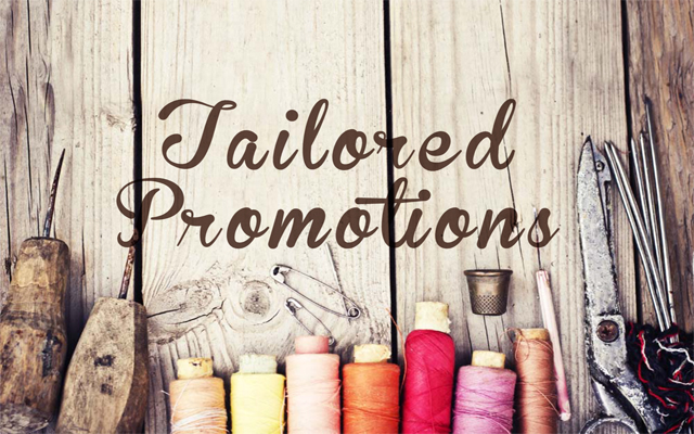 Personalised promotions